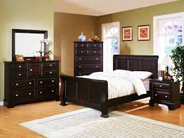home furnishings council 4 piece panel bedroom set in espresso 2065