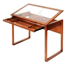 L Shaped Drafting Desk Ikea Drawing Table Drawing Table With Glass Window For Light