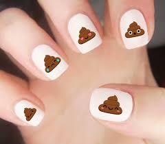 emoji had me like get our nail decal set via etsy
