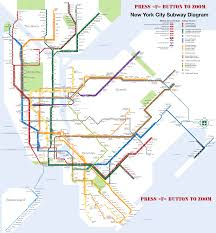 Map Of New York And Manhattan by New York City What To See