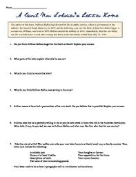 civil war letter worksheet by students of history tpt