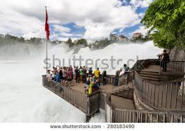 150 m to ft rheinfalls switzerland may 17 view biggest stock photo royalty free