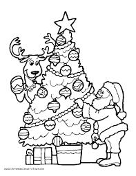 christmas tree color sheet christmas tree color sheets free