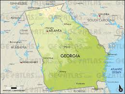 atlanta city us map maps and data myonlinemapscom ga maps state profile