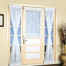Curtains For Doors Door Lace Curtains Size Of Door Door Curtain
