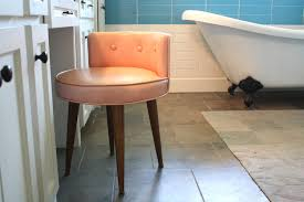 Vanity Chairs For Bathroom Eye Catching Bathroom Vanity Chairs And Stools Cabinet Hardware