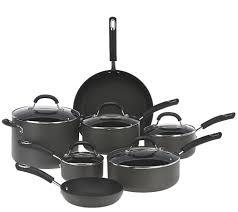 Cuisinart Dishwasher Safe Anodized Cookware Circulon Hard Anodized 12 Piece Dishwasher Safe Cookware Set