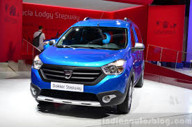 renault dokker 2017 dacia dokker stepway at the 2014 paris motor show indian autos blog