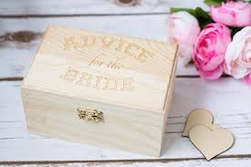bridal shower best wishes rustic wedding advice for the box best wishes box bridal
