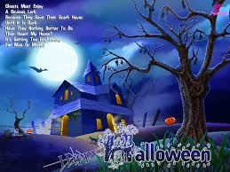 merry chrismast and happy new year halloween wallpaper free
