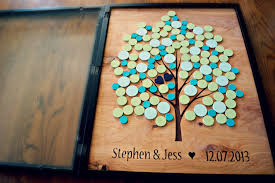 tree signing for wedding custom wedding accessories alternative wedding guest book tree