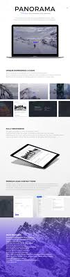 layout template en français panorama fullscreen photography html template by madeon08
