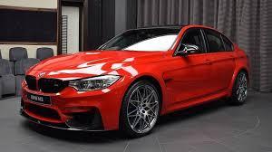 bmw m3 looks amazing wearing ferrari red paint news top speed
