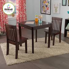 kidkraft heart table and chair set stair chairs conference dining