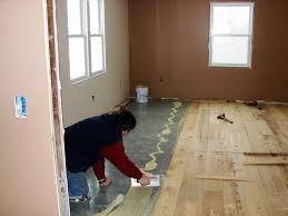 my wood floor is in i glue floors flooring