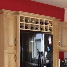 1000mm wide over fridge wine rack cabinet