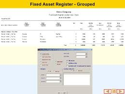 Fixed Asset Register Excel Template Fixed Assets Management Software