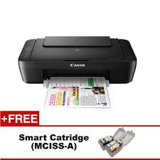 canon pixma e410 color inkjet 3 in 1 printer free gift lazada