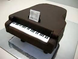 piano cake topper grand piano fondant cake