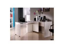bureau noir design bureau amovible bureau design blanc laqu amovible max bureau