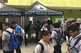 West Adams Los Angeles Map by West Adams Prep High