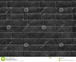 black brick wall texture brick surface as background stock photo