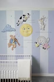 Nursery Rhyme Wall Decals Wall Decor Ideas Goose Nursery Rhymes Wall Simple