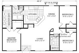 Modular House Floor Plans Fuller Modular Homes Caroline Home Floor Plan Factory Homes