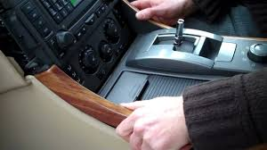 land rover wooden how to remove centre console on range rover sport 2005 09 youtube