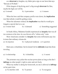 vocabulary chapter 4 worksheet google docs