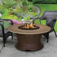 san simeon chat height fire pit 23 inch