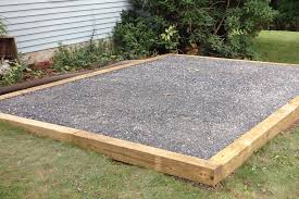 awesome dimensions single car garage 9 shed gravel pads 1