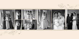 custom wedding photo albums wedding album exle pages search wedding