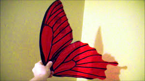 make 10 cellophane fairy wings no wire safe for kids patterns