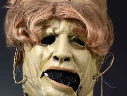 leatherface mask trick or treat studios shows leatherface mask for