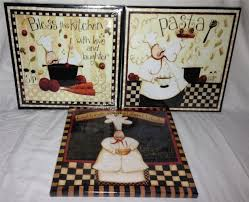 Chef Kitchen Decor Sets Chef Decor For Kitchen Wall Decorations Kitchenchef The Fat