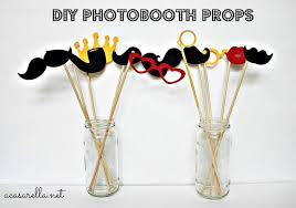 diy photo booth props create a photo booth the bright ideas