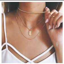 choker necklace layered images Jewels gold jewelry jewelry necklace gold gold necklace jpg