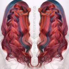 hair color pics highlights multi 20 cool styles with bright red hair color updated for 2018