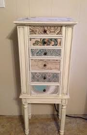 Jewelry Armoire Vintage Best 25 Jewelry Box Painted Ideas On Pinterest Love Box Diy