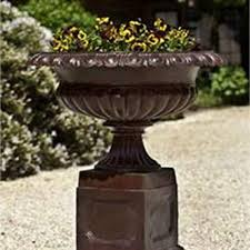 shop for cast iron planters at life on plum