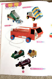 Halloween Milk Carton Crafts by Dump Trucks Plains Trains Cars Crafts From Milk Carts And