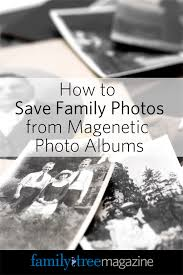 magnetic photo album acid free how to save family photos from magnetic photo albums family tree