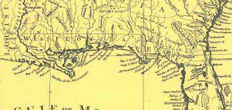 West Coast Of Florida Map by When Florida Touched The Mississippi The Florida Memory Blog
