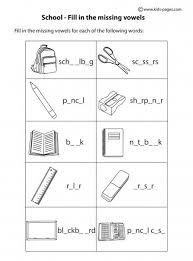 fill in b u0026w worksheets english classroom pinterest