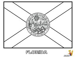 coloring hawaiian flag coloring page