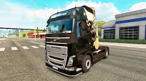 volvo 2017 truck dying light skin for volvo truck for euro truck simulator 2