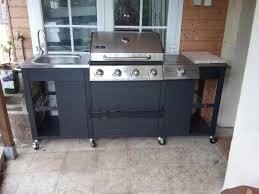 barbecue cuisine d barbecue à gaz 5 brûleurs cuisine extérieure d artagnan