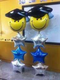 graduation balloon columns columnas globos pinterest