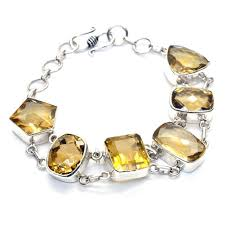silver topaz bracelet images Yellow topaz and sterling silver bracelet franki baker jewellery jpg